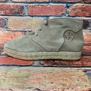 Tory Burch Rio Suede Ankle Booties